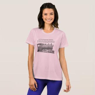 Amerikan Lokomotiv Företag kvinnor för 0-4-0 T T Shirts