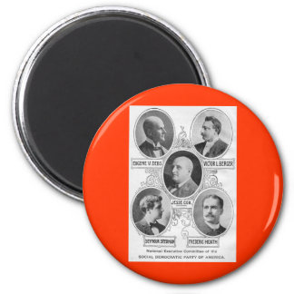 Amerikan Social-democratic-party-1900 Magnet