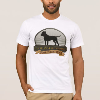 Amerikan Staffordshire T Shirts