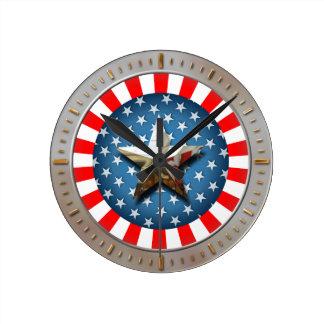 Amerikan Time Rund Klocka