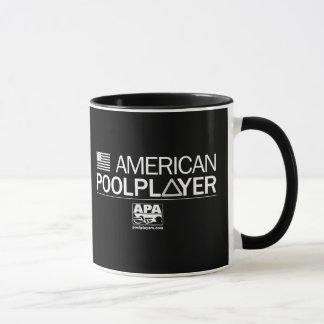 Amerikanbassängspelare Mugg