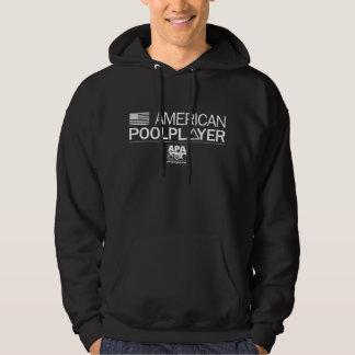 Amerikanbassängspelare Tröja Med Luva