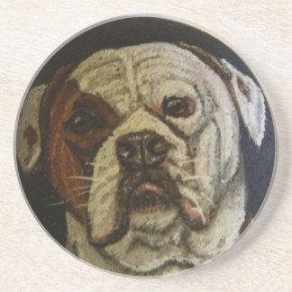 Amerikanbulldogg Underlägg Sandsten