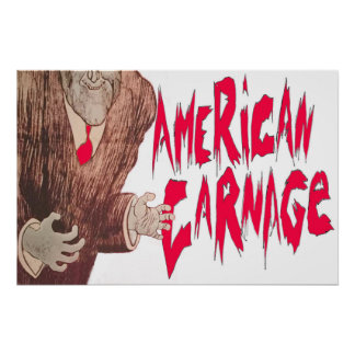 AmerikanCarnageaffisch Poster