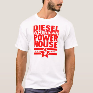 Amerikandieselkraftstation T-shirts