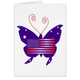 AmerikanDivafjäril Hälsningskort