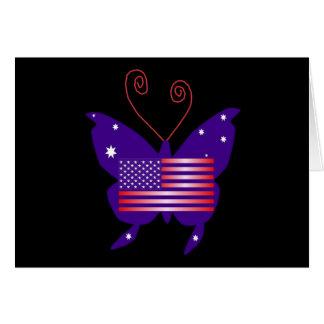AmerikanDivafjäril Kort