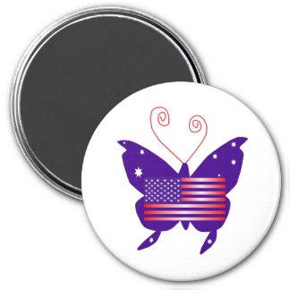 AmerikanDivafjäril Magnet För Kylskåp