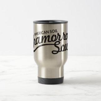 Amerikanen smutsar, den Chamorro Soultravel mug Resemugg