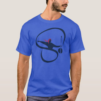 Amerikanen Sufi projekterar den djupa kungliga T-shirt