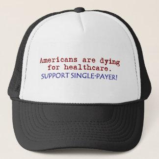 Amerikaner dör för sjukvård! keps