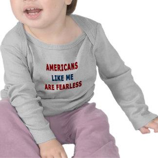 Amerikaner gillar mig är oförskräckta tee shirts