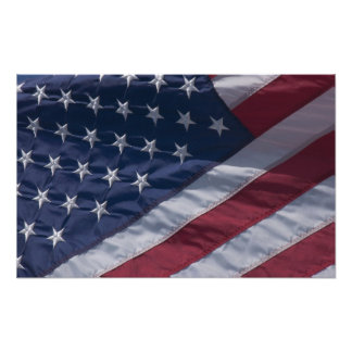 Amerikanflagga Fototryck