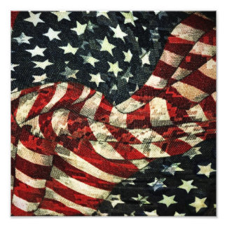 AmerikanFlagga-Kamouflage Fototryck
