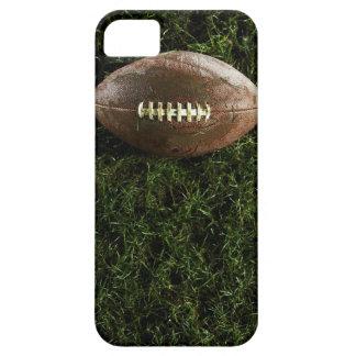 Amerikanfotboll på gräs, beskådar från över iPhone 5 cover