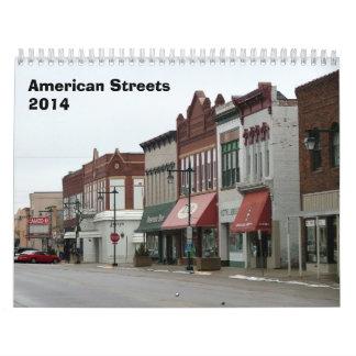 Amerikangatakalender - 2014 kalender