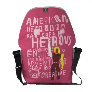 Amerikanhjälte Kurir Väskor