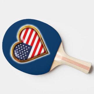 Amerikanhjärta Pingisracket