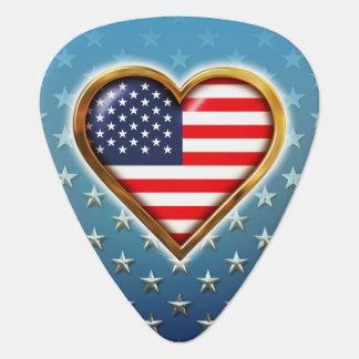 Amerikanhjärta Plektrum