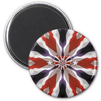 Amerikanhjärtamagnet! Magnet