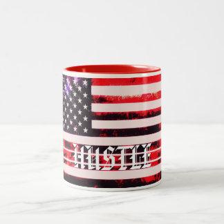 AmerikanHustle Två-Tonad Mugg
