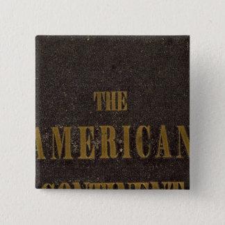 Amerikankontinent United States Standard Kanpp Fyrkantig 5.1 Cm