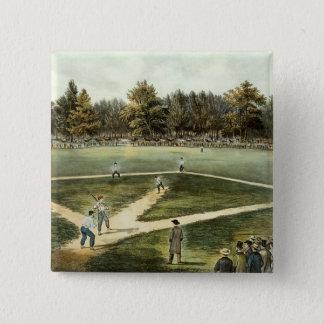 Amerikanmedborgareleken av baseball standard kanpp fyrkantig 5.1 cm