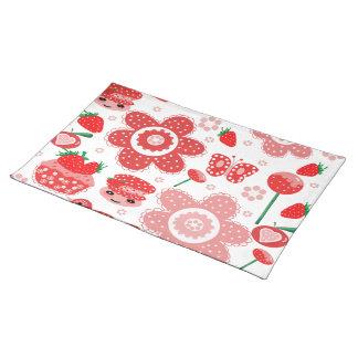 AmerikanMoJo bordstabletter, jordgubbar Bordstablett