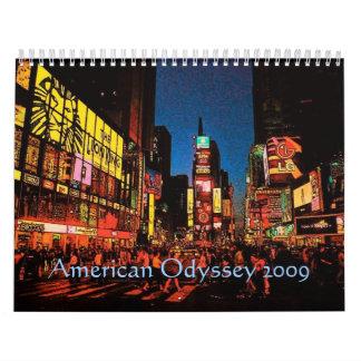 AmerikanOdysseykalender Kalender