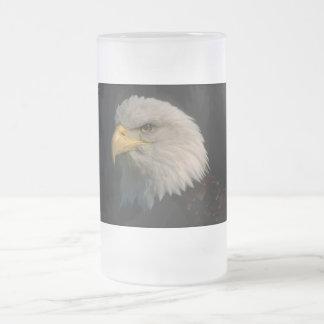Amerikanörn Frostad Glas Mugg