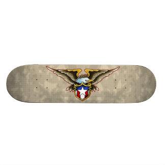 Amerikanörnen skyddar design skateboard bräda 21,5 cm