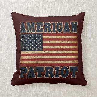 Amerikanpatriotflagga Kudde