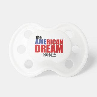 Amerikanska drömmen (som göras i china) napp