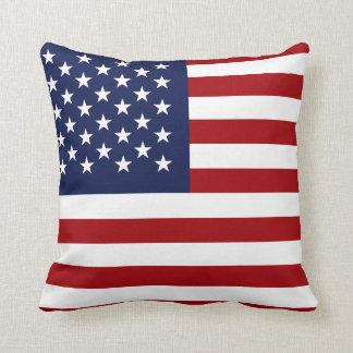 Amerikanska flaggan 2 kudde