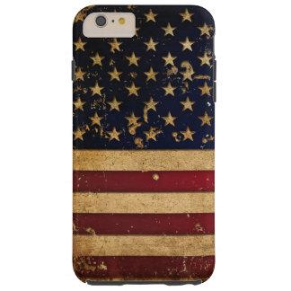 Amerikanska flaggan 2 tough iPhone 6 plus fodral
