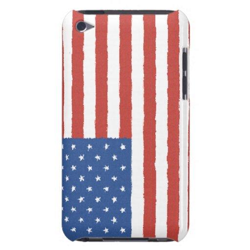 Amerikanska flaggan iPod Case-Mate cases