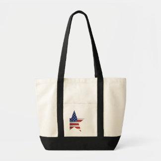 Amerikanska flaggan impulse tygkasse