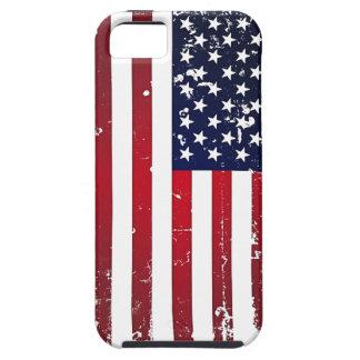 Amerikanska flaggan iPhone 5 fodral
