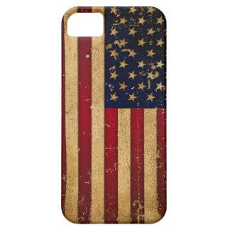 Amerikanska flaggan iPhone 5 fodraler