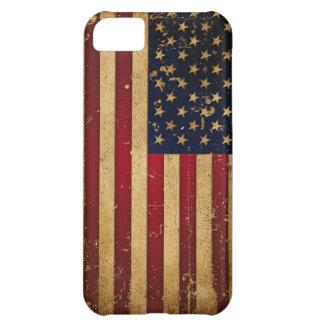 Amerikanska flaggan iPhone 5C fodral