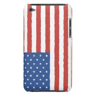 Amerikanska flaggan iPod Case-Mate fodral