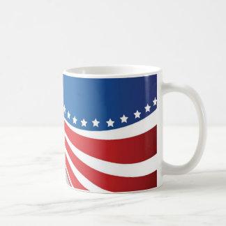 Amerikanska flaggan kaffemugg