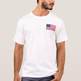 Amerikanska flaggan - komm ta den! tee shirt