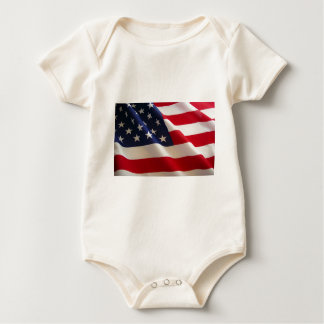 Amerikanska flaggan krypdräkt