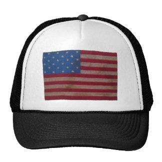 Amerikanska flaggan med 24 stjärnor baseball hat