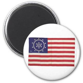 Amerikanska flaggan med 48 stjärnor Whipple Kylskåps Magneter