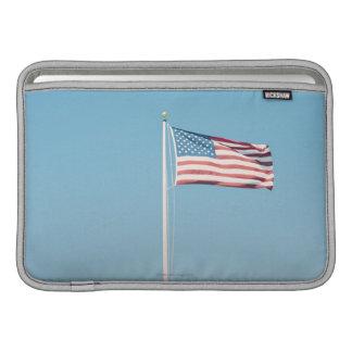 Amerikanska flaggan med vintagelook MacBook sleeve