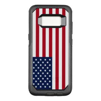 Amerikanska flaggan OtterBox commuter samsung galaxy s8 skal