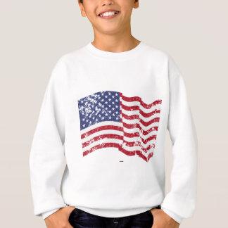 Amerikanska flaggan som vinkar - som är bekymrad tshirts