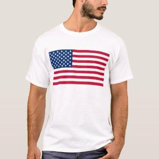 Amerikanska flaggan t-shirt